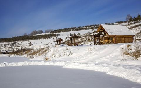 Никольское зимой