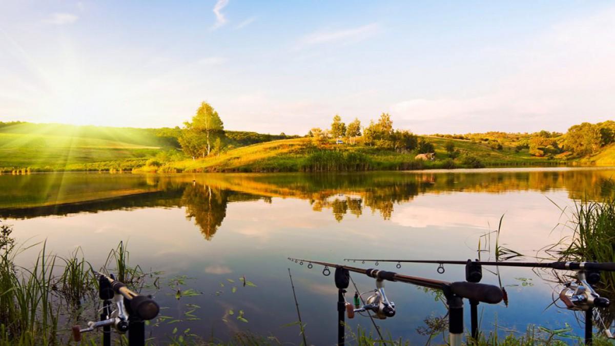 Картинки рыбалки на озере